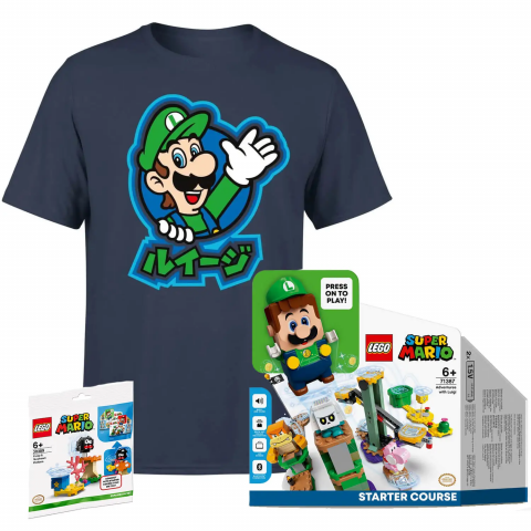 Promo spéciale Lego Super Mario : La venue de Luigi célébrée chez Zavvi