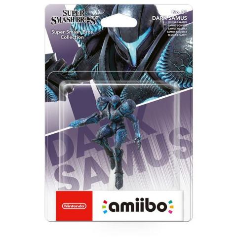 La figurine Amiibo Samus Sombre Super Smash Bros descend en dessous des 10€
