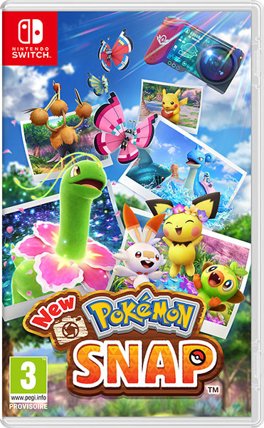 New Pokémon Snap sur Switch