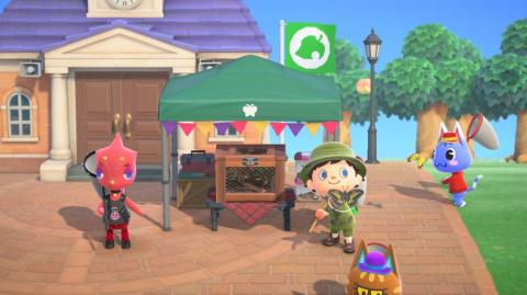 Animal Crossing New Horizons dévoile sa mise à jour printanière