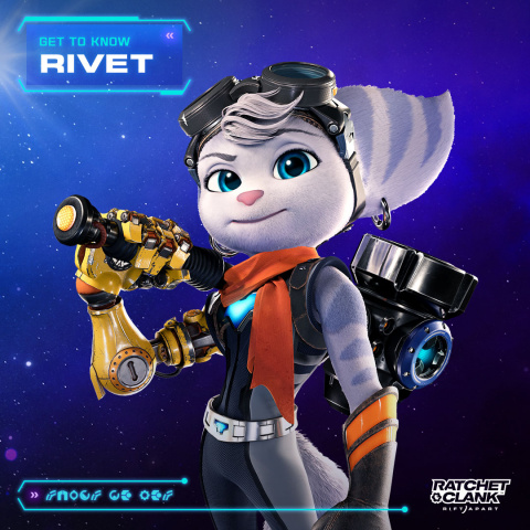 Ratchet & Clank Rift Apart : Rivet se montre plus en détail