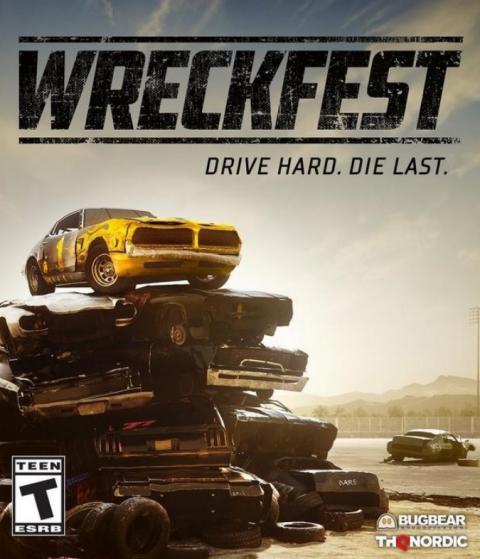 Wreckfest sur Xbox Series