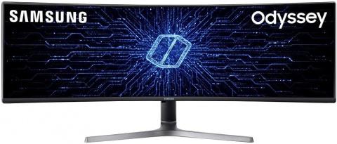 """L'exceptionnel écran PC gamer Samsung C49 49"""" 5K 120Hz 4ms en promo à -19%"""