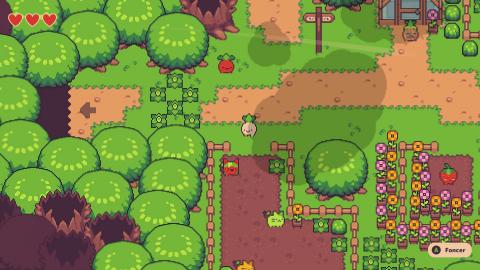 Turnip Boy Commits Tax Evasion : Un Zelda-like loufoque et ingénieux sur Switch