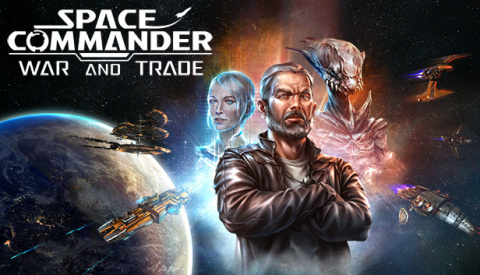 Space Commander : War and Trade sur Switch
