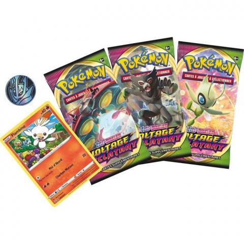 Pokémon TCG : le pack de 3 boosters aléatoire à moins de 16€