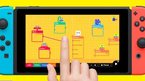 L'Atelier du Jeu Vidéo : Nintendo lance son créateur de jeux sur Switch !