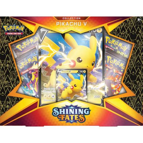 Pokémon Destinées Radieuses, le pack Pikachu V de retour !
