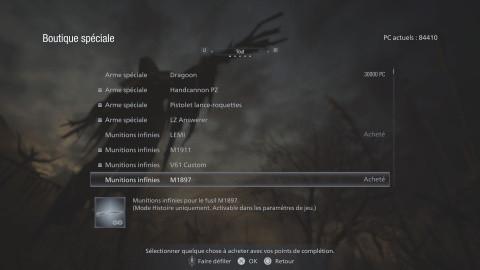 Resident Evil Village, munitions illimitées faciles pour le NG+, l'astuce à connaître