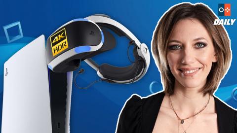 PlayStation VR 2 : 4K, foveated rendering, retours haptiques...