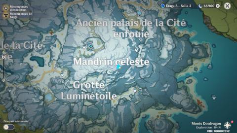 Genshin Impact, La créature des montagnes : guide de la quête