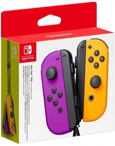 La paire de manettes Joy-Con pour Switch à prix cassé !