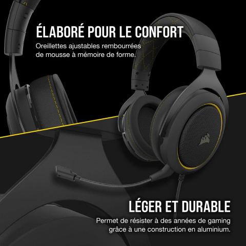 Corsair HS60 PRO : Un casque gamer 7.1 à prix imbattable durant la Gaming Week