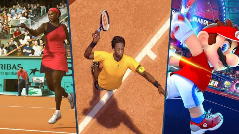 Roland-Garros arrive : 10 jeux de tennis sur console et PC
