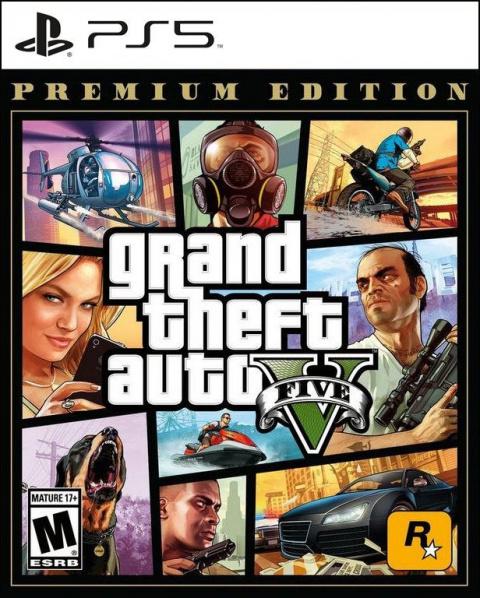 Grand Theft Auto V sur PS5
