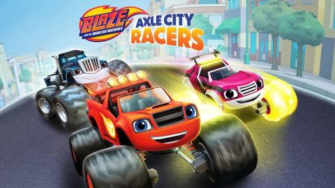Blaze et les Monster Machines : Pilotes de Moteur City sur PC