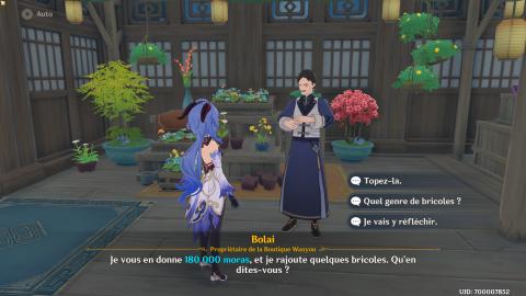 Genshin Impact : quête secrète des Neuf Piliers, notre guide