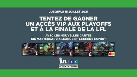 CIC Mastercard x League of Legends Esport : découvrez l'offre bancaire 100% Esport !