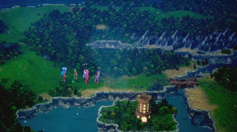 Dragon Quest III dans un remake HD 2D façon Octopath Traveler