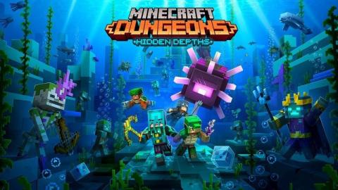 Minecraft Dungeons : Hidden Depths
