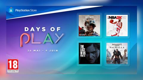PlayStation Store : The Last of Us Part II, ne passez pas à côté des promos Days of Play !
