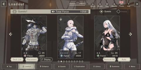 Nier Re[in]carnation : comment faire progresser vos personnages ?