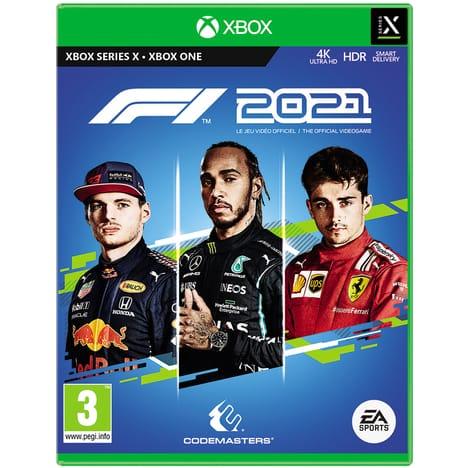 F1 2021 sur Xbox Series