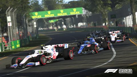 F1 2021 : Des surprises à venir pour la simulation de Codemasters ?