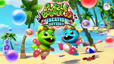 Puzzle Bobble 3D Vacation Odyssey sur PS4