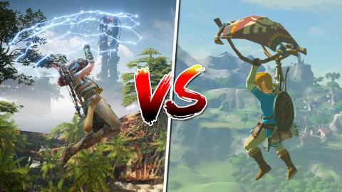 Horizon Forbidden West : Le comparer à Zelda Breath of the Wild, c'est justifié ?