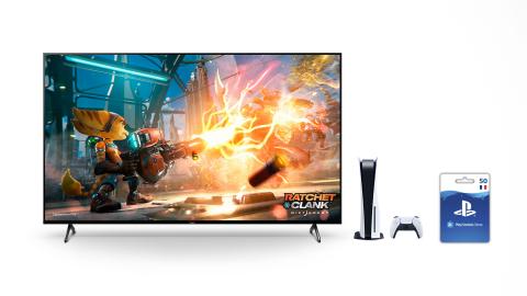 PlayStation Store : 50€ offerts pour l'achat d'un TV BRAVIA XR