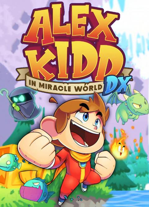 Alex Kidd in Miracle World DX sur PC