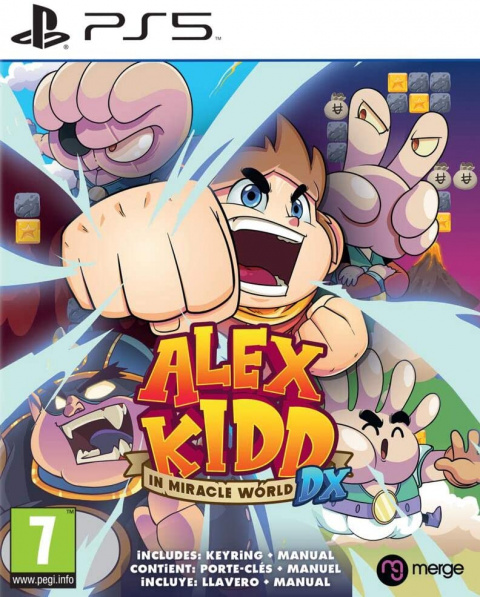 Alex Kidd in Miracle World DX sur PS5