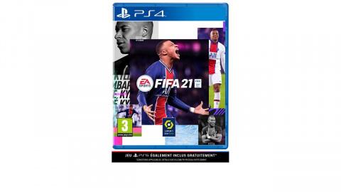 FIFA 21 sur PS4 passe à -71% sur la Fnac