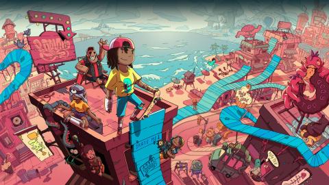 OlliOlli World : Le jeu de skate arcade prend une nouvelle dimension