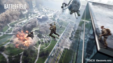 Battlefield 2042 : la taille du jeu dévoilée sur Xbox, beau bébé en prévision ?