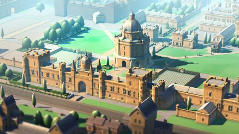 E3 2021 : Two Point Campus officialisé avec un trailer