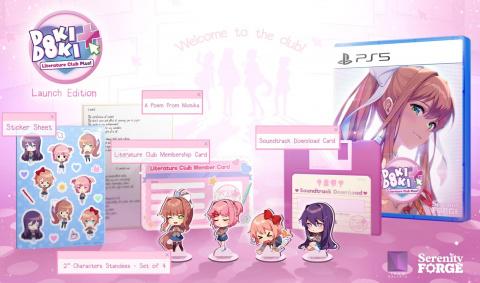 E3 2021 : Doki Doki Literature Club Plus! se dévoile et annonce une édition physique