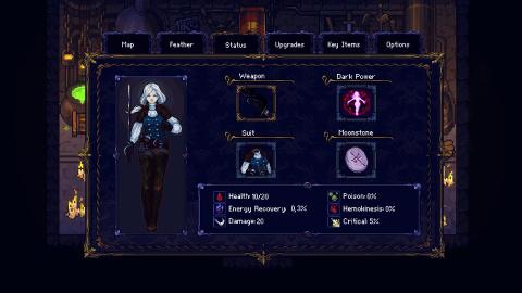 E3 2021 : Hunt the Night, un jeu d'action-aventure dark fantasy au style 16-bit
