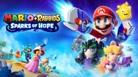Mario + The Lapins Crétins Sparks of Hope sur Switch