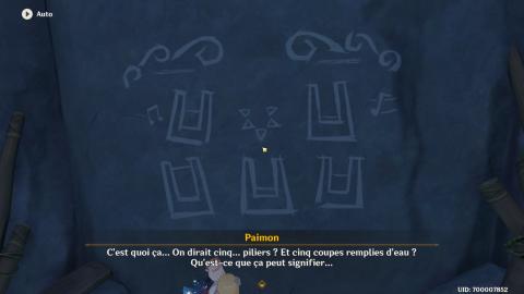 Genshin Impact, la quête cachée du bassin (Le mystère des rochers et des piliers) : coffres et Primo-gemmes à récupérer