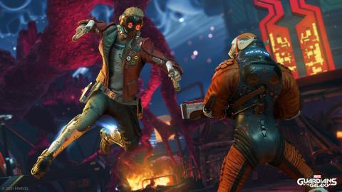 Les Gardiens de la Galaxie : Un jeu d'action narratif qui a du potentiel - E3 2021