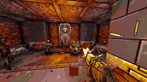 E3 2021 - Project Warlock 2 : Le Doom-like annonce son kickstarter dans un sanglant trailer