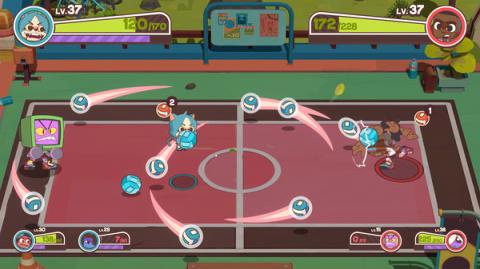 Dodgeball Academia : un jeu mélangeant balle au prisonnier et RPG présenté - E3 2021