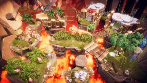 E3 2021 - Lumberhill : un party-game délirant avec des bûcherons déjà disponible