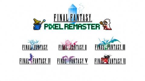 Final Fantasy Pixel Remaster : Les trois premiers jeux de la liste datés par Square Enix