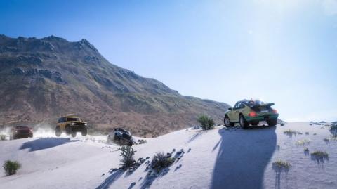 Forza Horizon 5 : la carte dévoilée, sa taille révélée