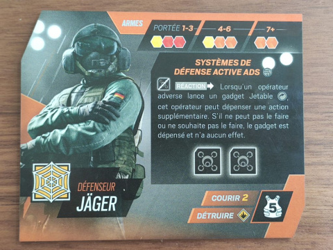 Un jeu de société Rainbow Six Siege en crowdfunding
