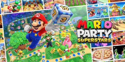 Mario Party Superstars sur Switch