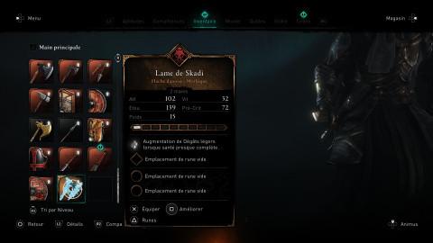 Assassin's Creed Valhalla, Défis de Maîtrise : comment terminer les défis des dieux et récupérer la lame de Skadi